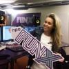 Ingrid aan de slag bij radiozender FunX
